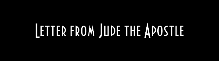Letter from Jude the Apostle