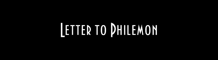 Letter to Philemon
